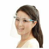 透明な保護抗唾液スプラッシュクッキングオイルプルーフフェイスシールド安全フェイスカバー