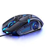 YINDIAO G5 przewodowa mysz do gier 6D 3200DPI RGB mysz do gier komputer Laptop optyczna mysz do gier