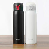 XIAOMI VIOMI 300ML Botella de Bebidas de Doble Pared de Acero inoxidable Aislado al Vacío