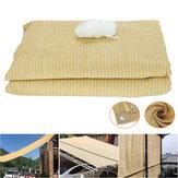 サンシェードネット日焼け止め防水折りたたみ式シェードコス屋外トップキャノピーキャンプガーデンパティオ用