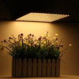 225LED Grow Light Warm White lampada Ultrathin Panel Hydroponics Pianta da interno Veg Flower AC85-265V