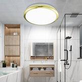 ZEROUNO 18/24/30 / 32W moderno LED luz de techo Impermeable Cuarto de baño redondo Lámpara baño inodoro interior de casa brillante