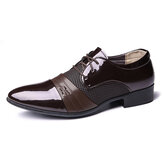 Men Soft Business Formal Oxfords