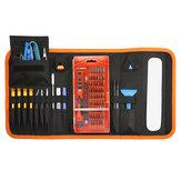 Jeu de tournevis de précision 84 en 1 - Kit d'outils de réparation magnétique avec sac portable
