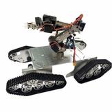 DoArm T900 robot tank auto chassis met S7 robotarm klauw voor