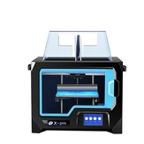 QIDI® X-Pro Dual Extruder 3D Printer Double Color Printing 200*150*150mm Printing Size Support WIFI Connection