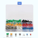 600Pcs Insulated Cord End Terminal Boots Lace Cooper Ferrules Kit Set Wire Copper Crimp Connector