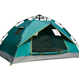 Ultralight Camping Tent Windproof Outdoor Hiking Backpacking Tent Free Mat