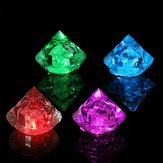 Multicolor Diamonds LED Luminous Ice Cube Flash Ice Christmas Party Wedding Decor Supplies