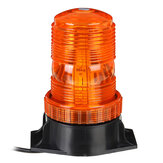 12V-24V 30 LED 5730 Feu clignotant rotatif Amber Beacon Flexible Tractor Light Warning Pour ATV Boat Truck Agricultural Machiney Vehicle