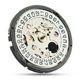Alta precisione Meccanico Orologio da polso automatico doppio movimento dell'orologio calendario