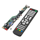 T.SK106A.03 Universal LCD LED TV Controller Driver Board TV/PC/VGA/HDMI/USB With Remote