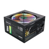 1200W Active ATX 12V PFC Desktop Gaming PC Fonte de alimentação 8PIN + 2x6PIN Fan silencioso com luz LED