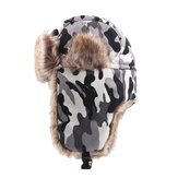 Unisex Winter Outdoor Camouflage Trapper Hat