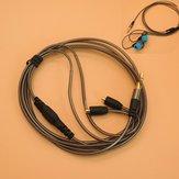 3.5 ملليمتر سماعة الصوت كابل استبدال ل شور سماعة SE215 315 425 535 846