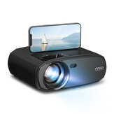 [5G WIFI] BlitzWolf®BW-VP13 1080P WIFI Proyector Completo HD 2.4G / 5G WIFI Cast Screen Mirroring 6000 lúmenes Bluetooth 5.0 Enfoque manual Corrección trapezoidal 180 pulgadas Proyector para al aire libre Inicio de películas