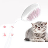 Pet Massage Shower Brush Antiskid Design One-button Hair Removal Cleaning Hair Shedding Tool For Cats Dogs Grooming
