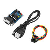 RS232 To TTL Converter Module Transfer Chip With 4PCS Cables