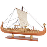 Drakkar Dragon Viking zeilboot montage model kit Lasersnijden proces DIY speelgoed