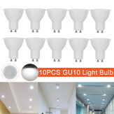 10 Pcs AC220V GU10 LED Light Bulb Spotlight Lamp Downlight Home Office Hotel