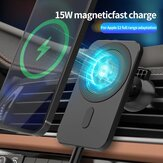 Bakeey 15W Wireless Car Charger Magnetic Type C Phone Holder Charger For iPhone 12 12Pro Max 12