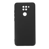 Bakeey for Xiaomi Redmi Note 9 Case Smooth Shockproof Soft Liquid Silicone Rubber Back Cover Protective Case Non-original