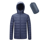 n Cotton Down Padded Jacket Portable Stand Collar Light Coat