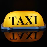 DC12V Car Taxi Cab Roof Top Sign Light Lamp Magnetic Yellow Large Size