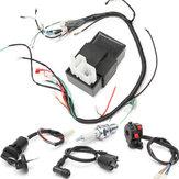 150cc 200cc 250cc kabelboom Loom spoel Regulator CDI voor ATV Quad
