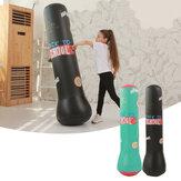 1.6mは立つボクシングのパンチバッグの子供の家のスポーツの適性の訓練の練習用具を膨らませます