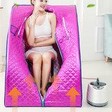 2L 1000W 110V Vapor portátil Sauna Tienda de campaña Home Spa Pérdida de peso de cuerpo completo Desintoxicación