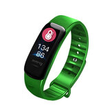 XANES® C1S 0.96 '' IPS Kleurenscherm IP68 Waterdicht Smart horloge Hartslag Fitness Armband Mi Band
