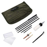 Cleaning Maintenance Kit for M16 Nylon Copper Brush Tactical Cleaning Kit w/ Storage Bag