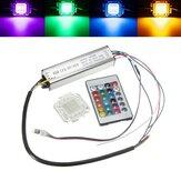 50w RGB чип лампочка водонепроницаемый LED драйвер источник питания с пульта дистанционного управления