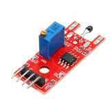 KY-028 4-pinowy moduł czujnika temperatury termistora cyfrowego Geekcreit dla Arduino - produkty współpracujące z oficjalnymi płytami Arduino