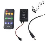 9 Keys Music Controller for WS2811 WS2812B LED Strip Light with DC Male Wire DC5V-12V