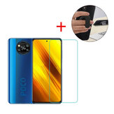 Bakeey for POCO X3 Pro / POCO X3 NFC Tempered Glass Screen Protector + Ring Holder