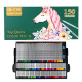 150 Colors Pencils Professional Oil Colored Pencils Set Artist Painting Sketching Wood Color Pencil School Art Supplies