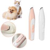 USB Akumulator Elektryczny trymer do przycinania paznokci dla zwierząt domowych Narzędzie do pielęgnacji kotów i psów Elektryczne nożyce do strzyżenia