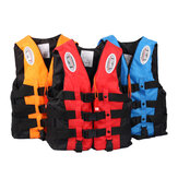 OWLWIN Universal Outdoor  Life Jacket Swimming Boating Skiing Driving Vest Survival Suit for Adult Children S -XXXL