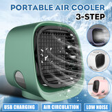 Fan Cooling Mini Air Conditioner Portable Cooler Desktop Table Humidifier USB
