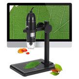 1600X 8LED 2MP USB digitální mikroskop Borescope zvětšovací kamera +držák stojanu