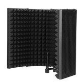 Πτυσσόμενο μικρόφωνο Acoustic Isolation Shield Acoustic Foams Studio Panel για εγγραφή αξεσουάρ μικροφώνου ζωντανής μετάδοσης
