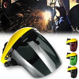 Welding Mask Clear Face Shield Screen Masker Visor Eye Perlindungan Wajah Lensa Tahan Gores