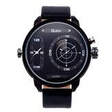 OULM3221BDualTimeZoneEinzigartiges Design Kreative Uhr