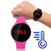 Bakeey MT08 Fahrenheit Body Temperature Monitori Centigrade Thermometer Modny inteligentny zegarek