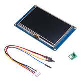 Nextion NX4827T043 4.3 дюймов HMI Intelligent Smart USART UART Serial Touch TFT LCD Экранный модуль