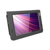 SNADNÝ 10,1 palcový HD přenosný televizor DVB-T DVB-T2 ATV barevný LCD displej Auto mini televize Podpora USB SD TF karta MP4 H.265 Dolby Audio AC3 EU zástrčka