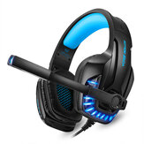 G9100 Gaming Headphones with Mic Stereo Deep Bass Headphone for PC Computer Gamer Laptop Wired Headset