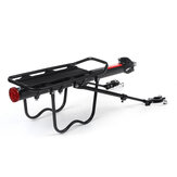 BIKIGHT 50KG Aluminum Alloy Bicycle Carrier Rack Bike Cargo Rack Bike Seat Rear Rack Carrier Holder Outdoor Cycling